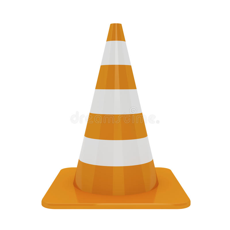 Download Traffic cone stock illustration. Illustration of traffic - 29490404
