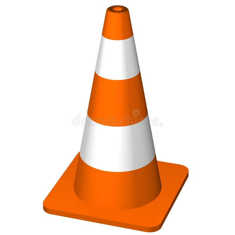 Download Traffic Cone stock illustration. Image of delay, barrier - 5827187