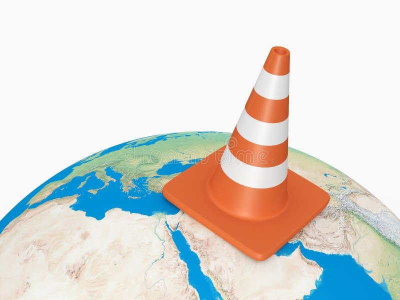 Traffic Cone on Earth