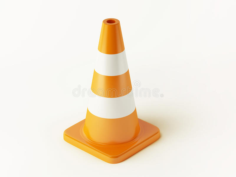 Download Traffic Cone stock illustration. Image of dimensional - 29917300