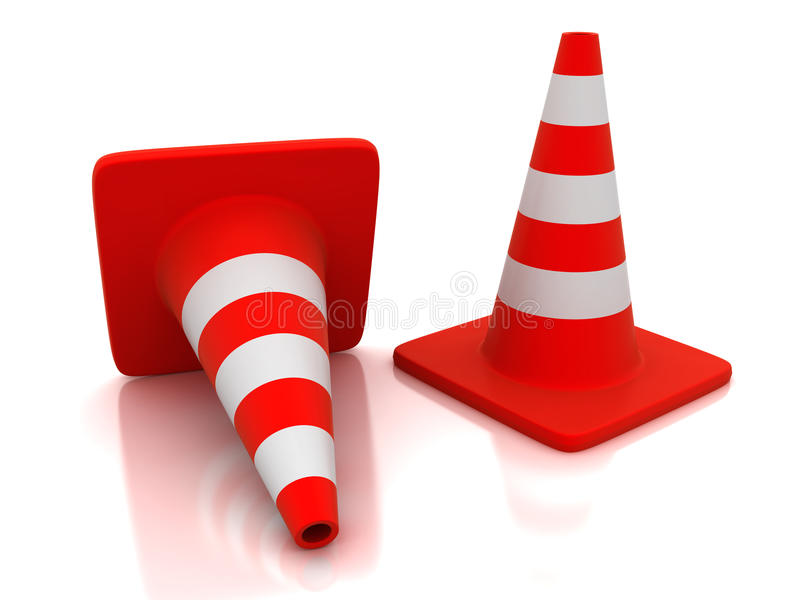 Download Traffic Cones Stock Images - Image: 16649164