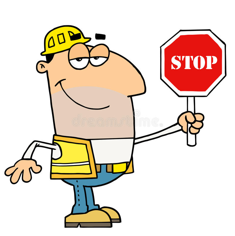 Traffic Director Stock Vector. Image Of Occupation