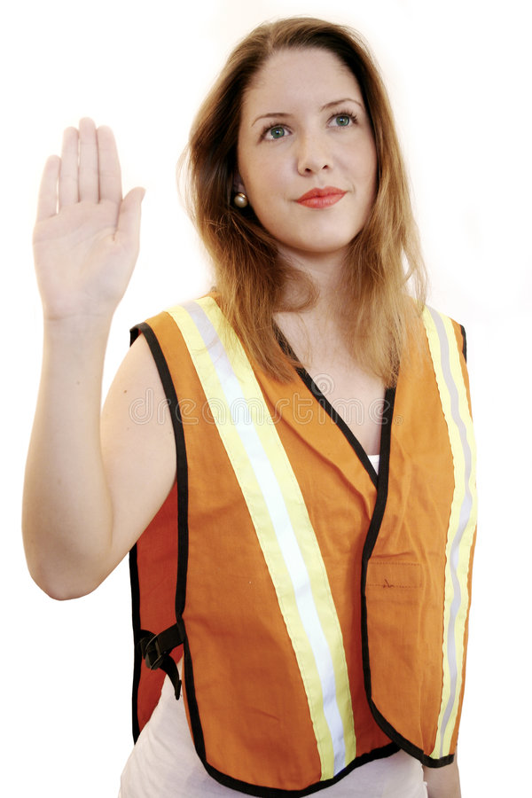 Traffic director stock photos