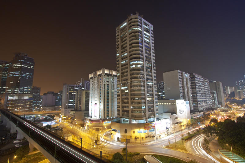 Download Traffic In Downtown Of Hong Kong Stock Photo - Image: 22708362