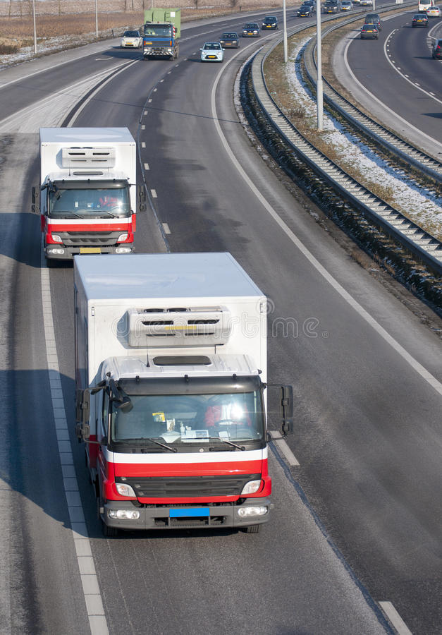 Download Traffic on a highway stock image. Image of haulage, freedom - 23347927