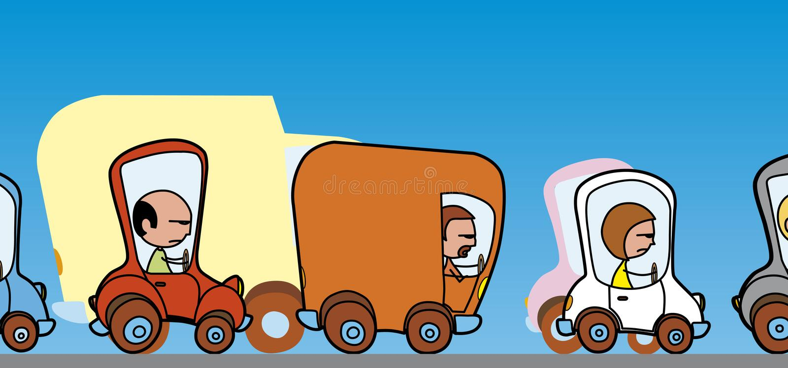 Download Traffic Hold-up Stock Images - Image: 4416264