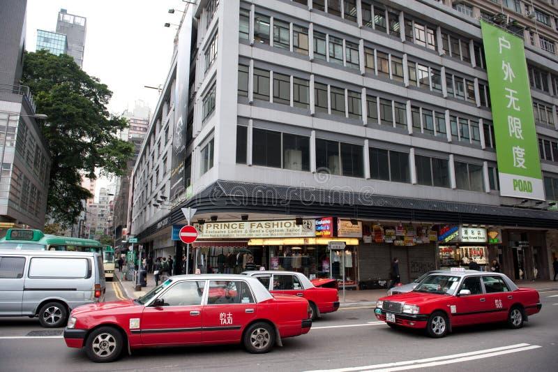 Traffic On Hong Kong Street Editorial Stock Image