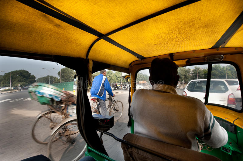 Traffic In India Editorial Photo