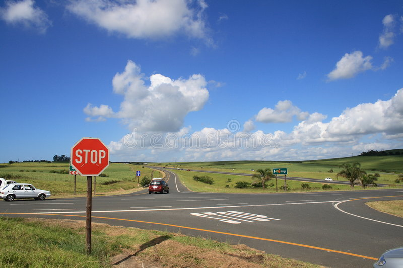 Download Traffic Intersection Stock Photography - Image: 4330222