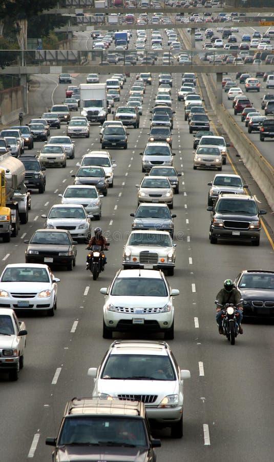 Traffic jam royalty free stock photos