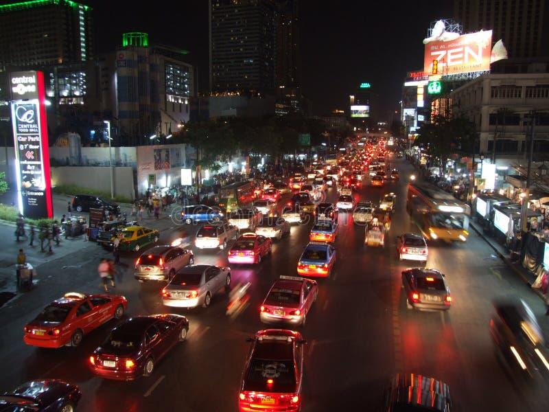Download Traffic jam in Bangkok editorial stock photo. Image of evening - 22829303