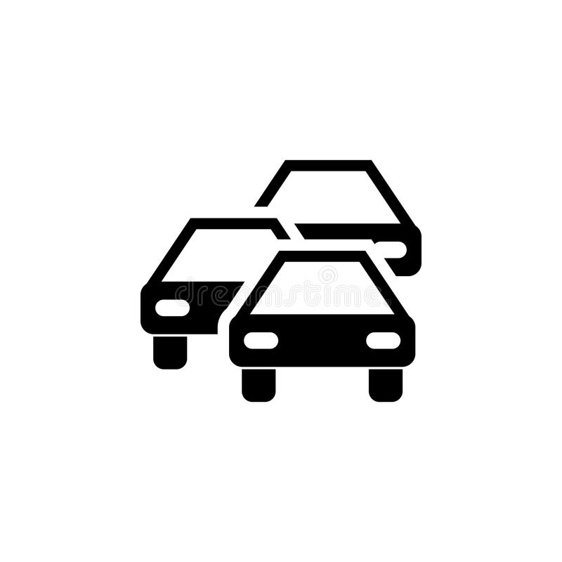 Traffic jam icon. Elements of transport icon. Premium quality graphic design icon. Signs and symbols collection icon for websites,. Web design, mobile app on stock illustration