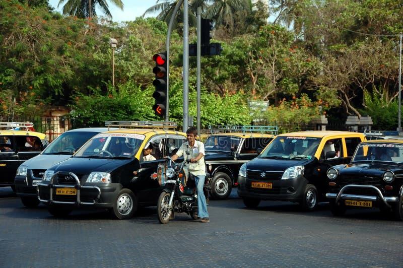 Traffic jam in Mumbai royalty free stock images