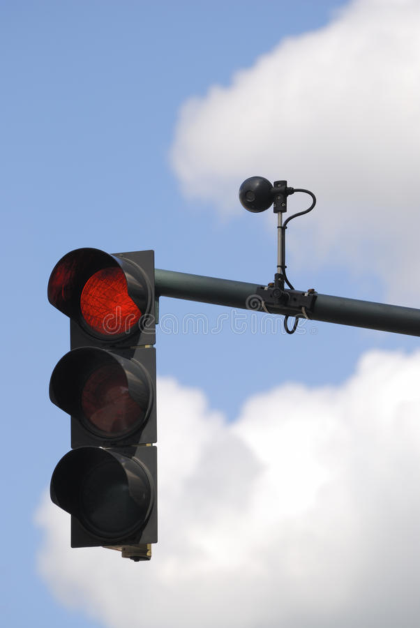 Download Traffic light stock image. Image of surveillance, camera - 11209485