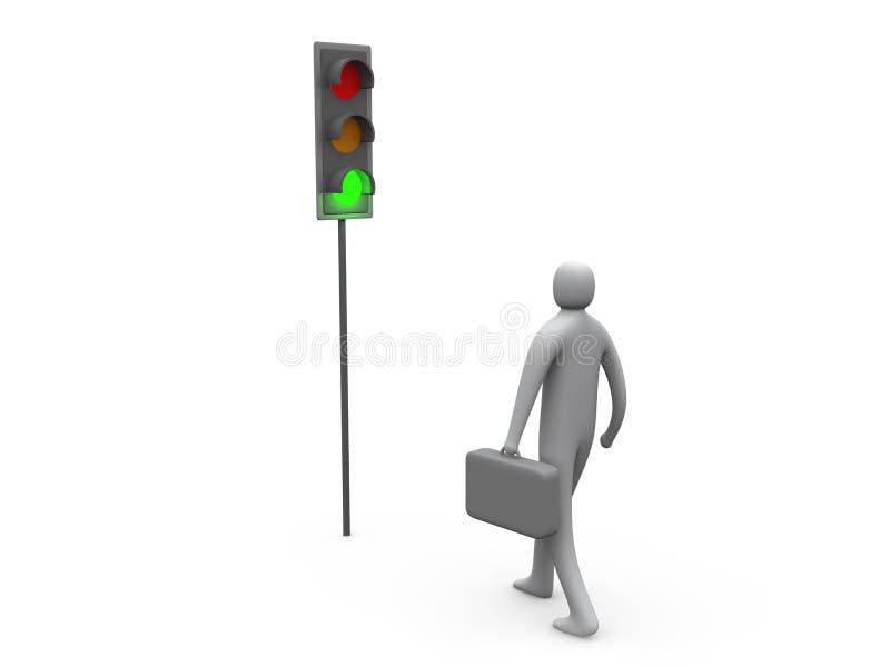 Traffic Light royalty free illustration