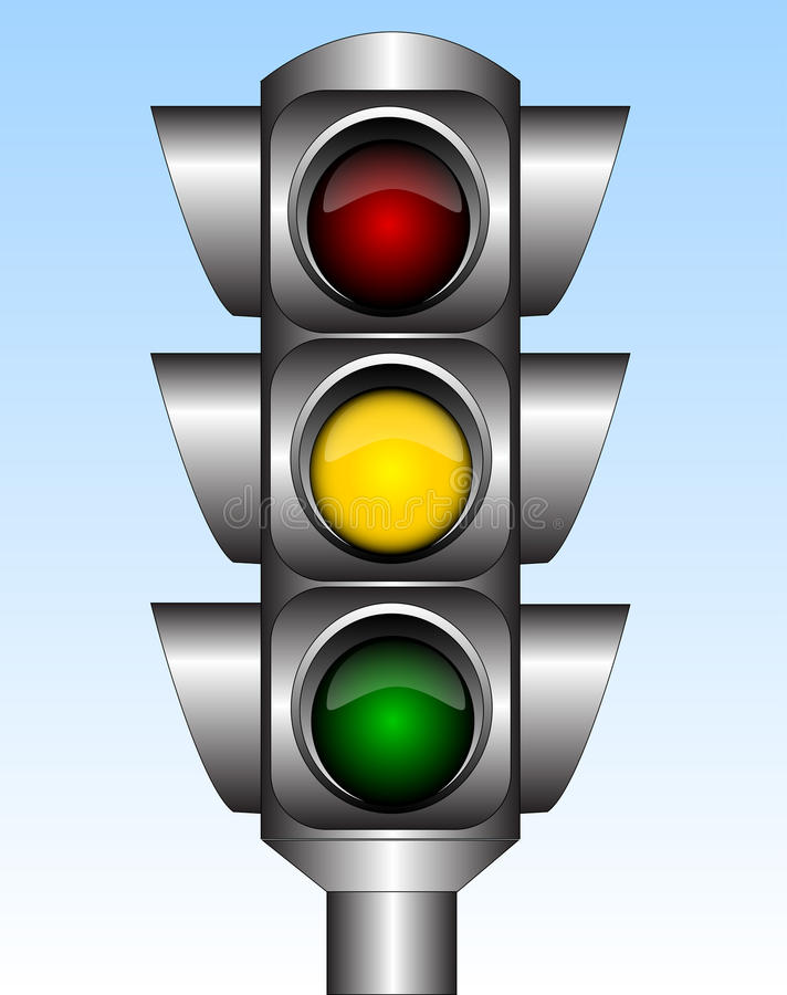Free Traffic Light Royalty Free Stock Photography - 15090927