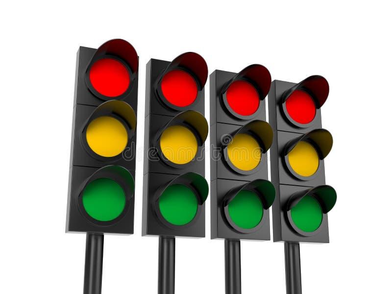 Download Traffic light stock illustration. Image of stop, safe - 18626410