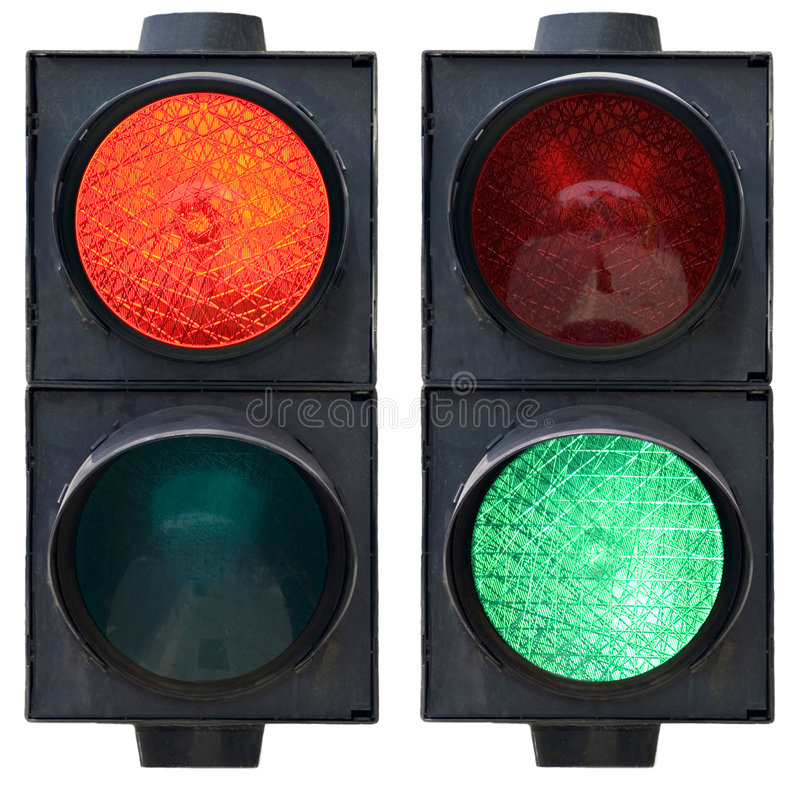 Free Traffic Light Royalty Free Stock Photo - 2501605