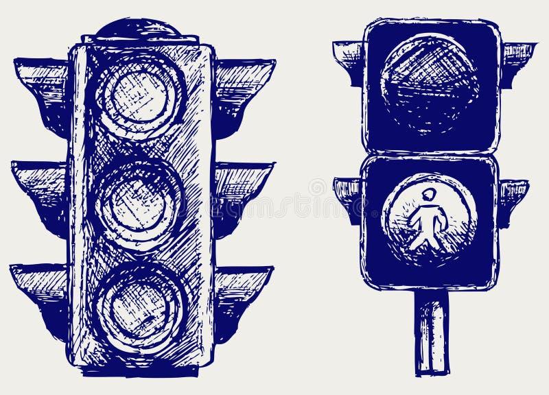 Download Traffic light stock vector. Illustration of light, concept - 26513678