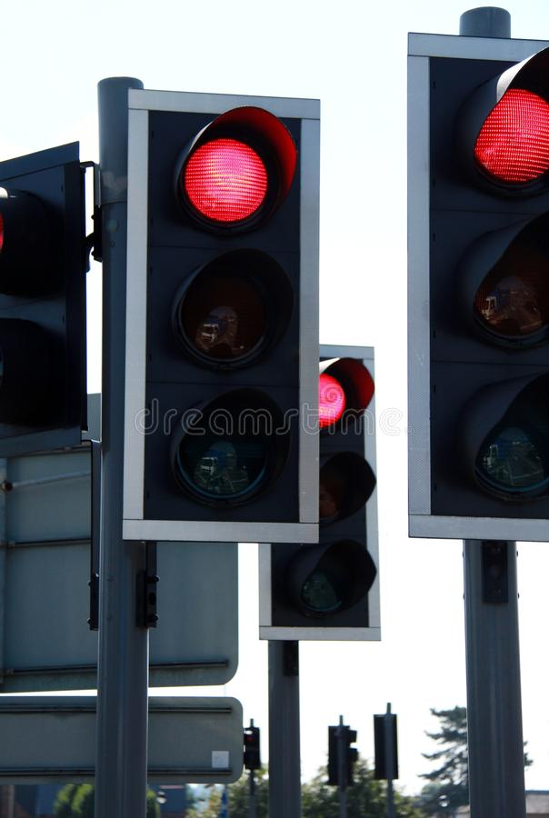 Download Traffic light stock illustration. Illustration of driving - 26831645