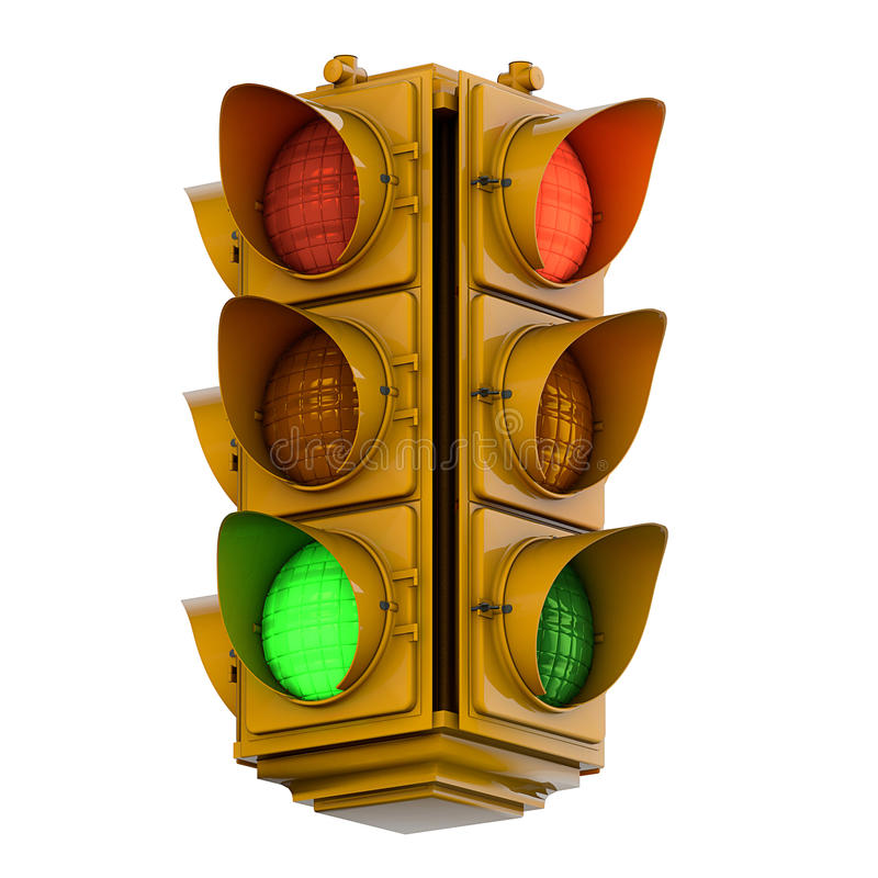 Download Traffic light stock illustration. Illustration of safety - 37699416