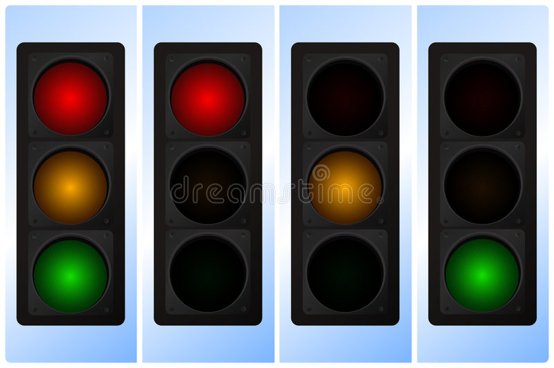 Download Traffic Light Royalty Free Stock Images - Image: 7543059