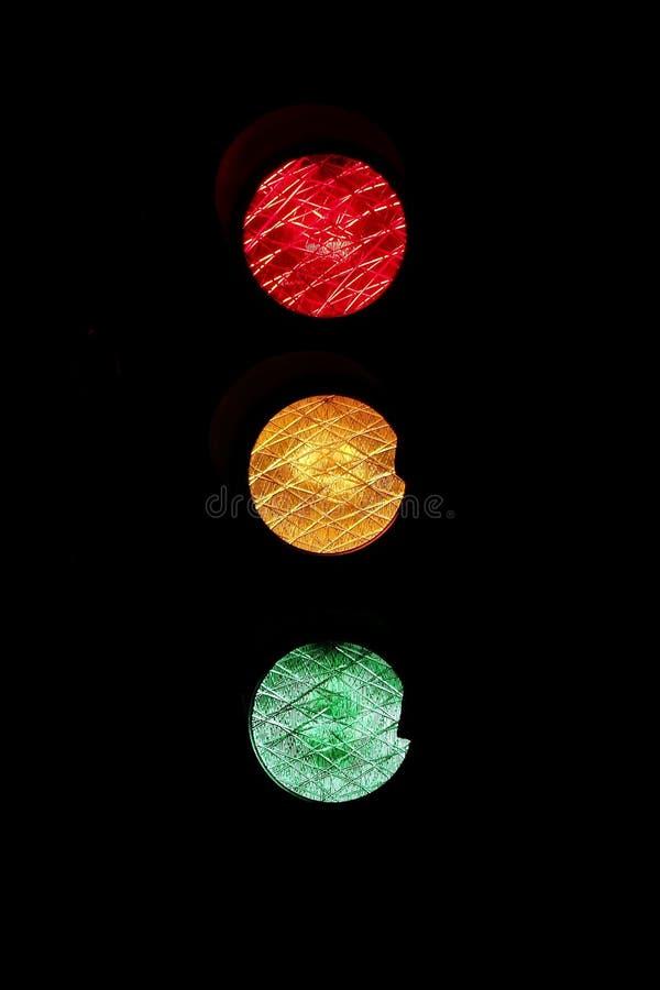 Traffic Light On Black Free Public Domain Cc0 Image