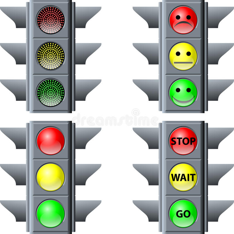 Download Traffic light stock vector. Illustration of order, electric - 35311496