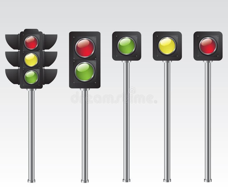 Download Traffic light illustration stock vector. Illustration of light - 26185141