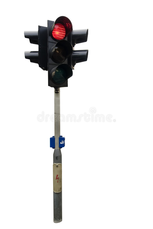 Download Traffic Light Isolated stock photo. Image of vintage, traffic - 631506