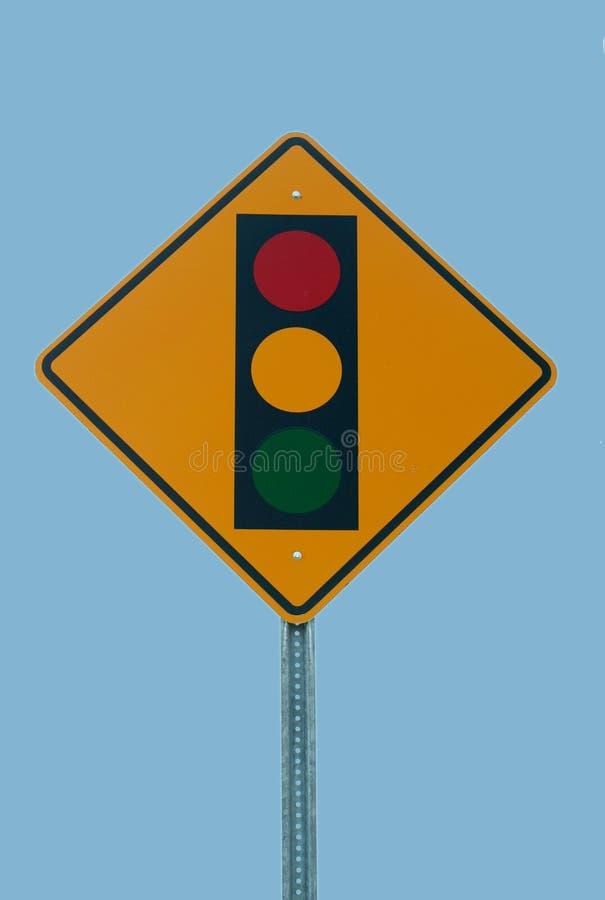 Traffic light sign stock photography