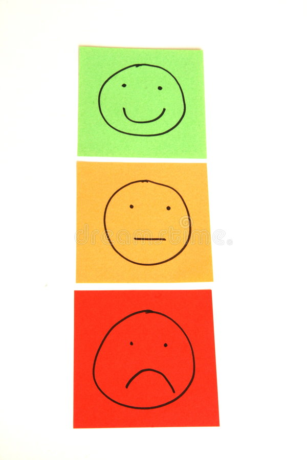 Download Traffic light smileys stock image. Image of emoticons - 7999813