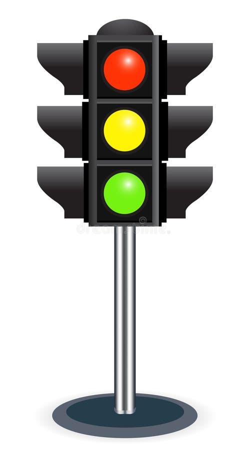 Traffic lights stock illustration