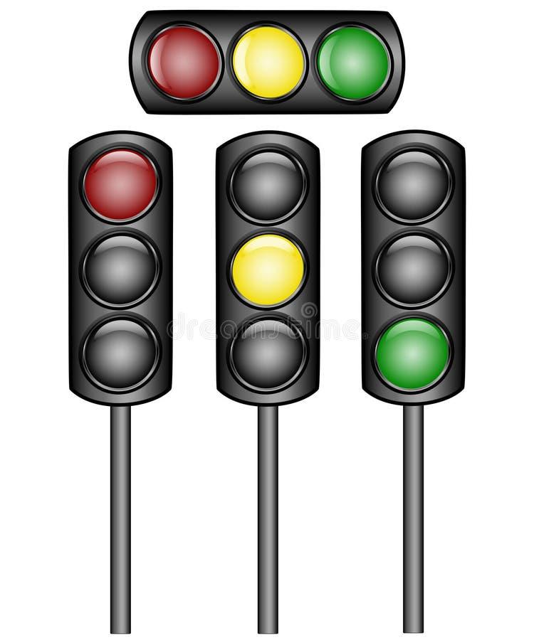 Download Traffic lights stock vector. Illustration of symbol, light - 14851297