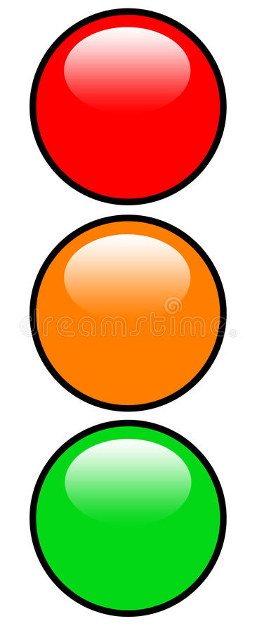 Download Traffic lights stock illustration. Image of intersection - 16539164