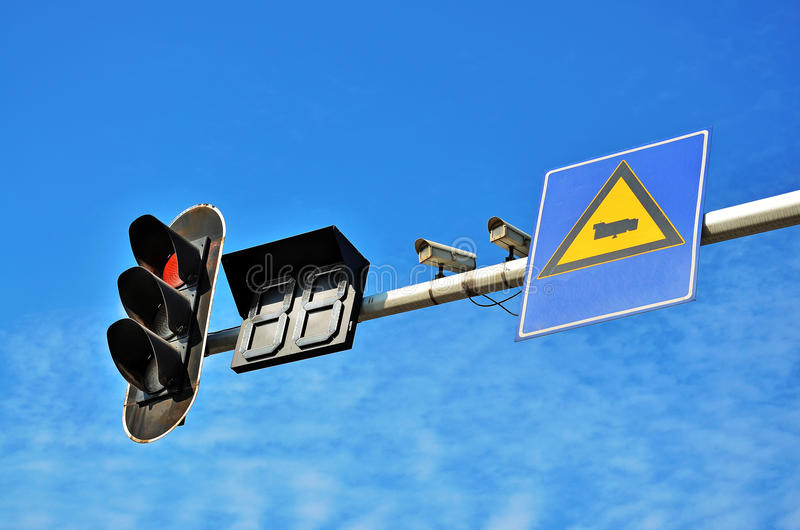Download Traffic lights stock image. Image of background, monitor - 22405969