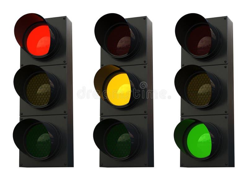 Download Traffic lights stock illustration. Image of control, regulation - 28316558