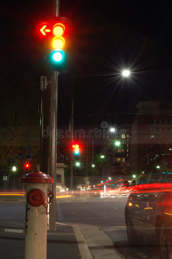 Download Traffic Lights stock image. Image of long, colors, colorful - 3688969