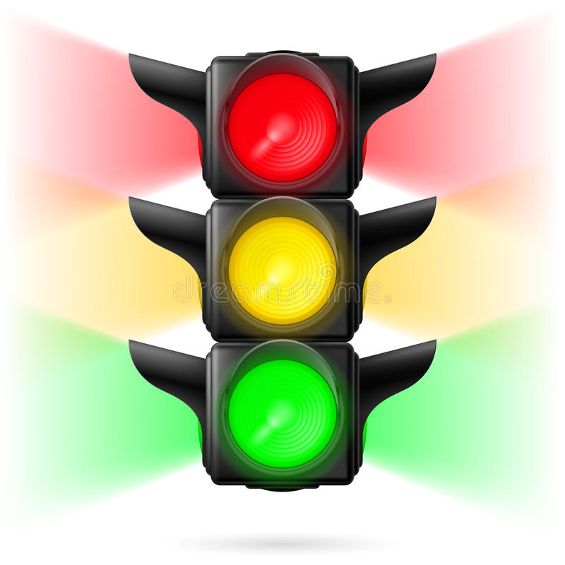 Free Traffic Lights Royalty Free Stock Image - 41007766