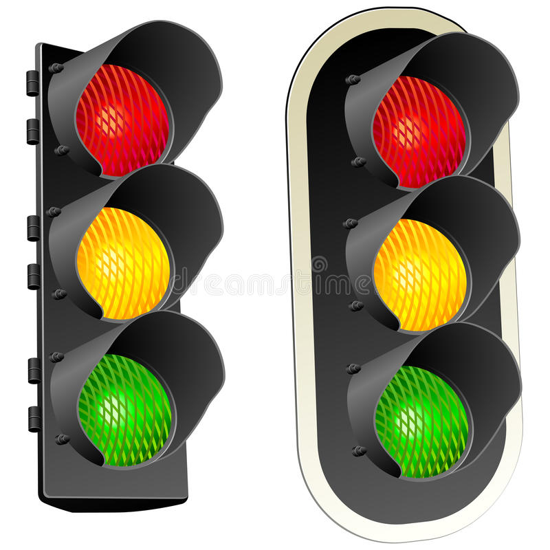 Traffic lights. royalty free illustration
