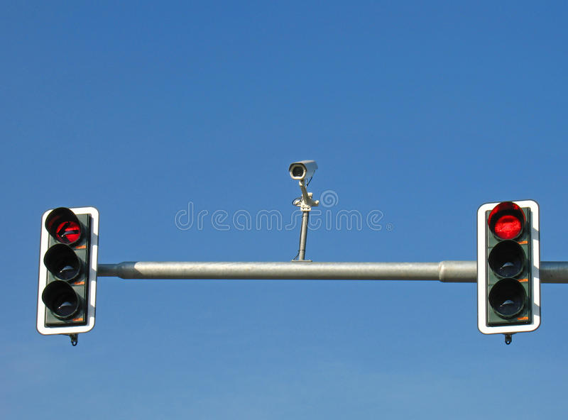 Download Traffic lights and camera stock image. Image of stand - 10794245