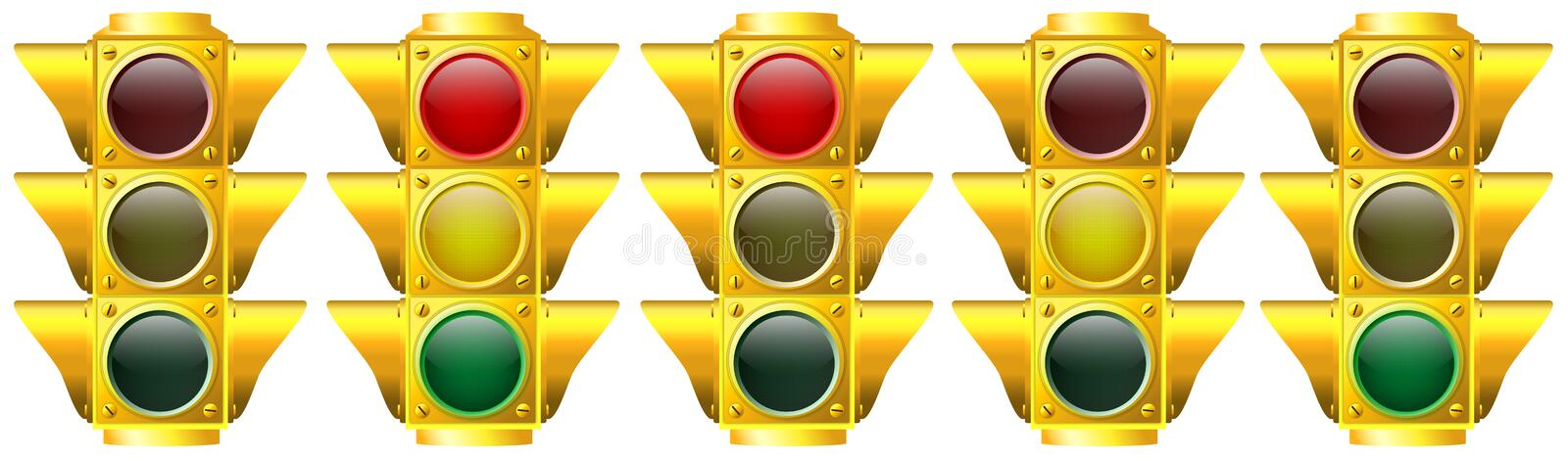 Traffic Lights stock illustration