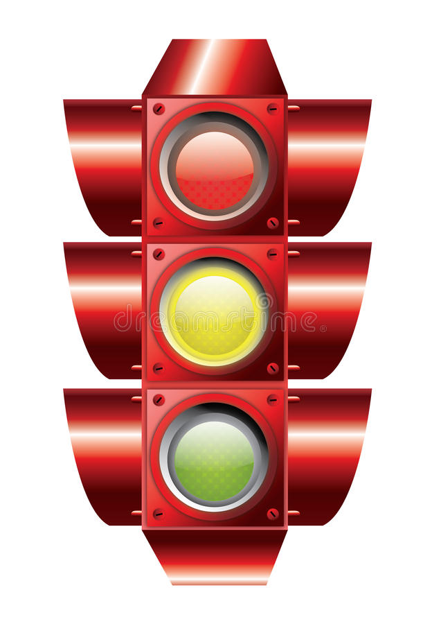 Traffic Lights Vector Stock Photo