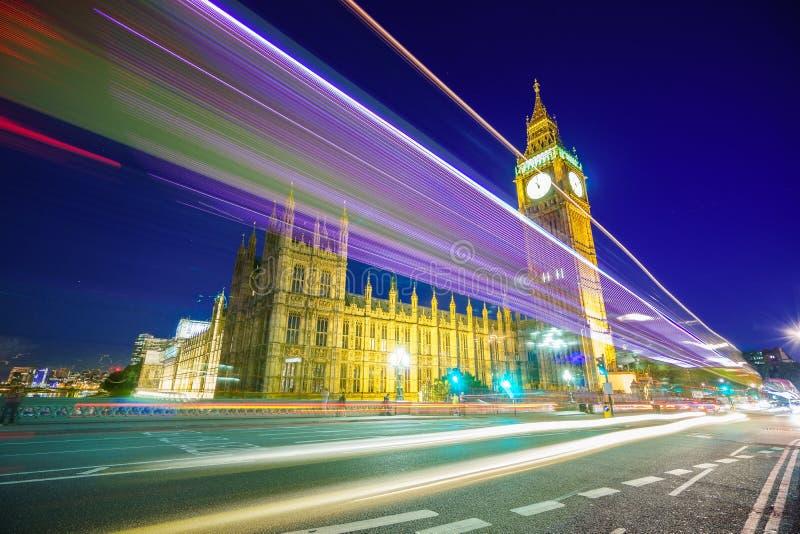 Traffic through London royalty free stock image