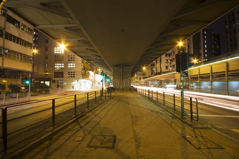 Traffic Night Royalty Free Stock Photography