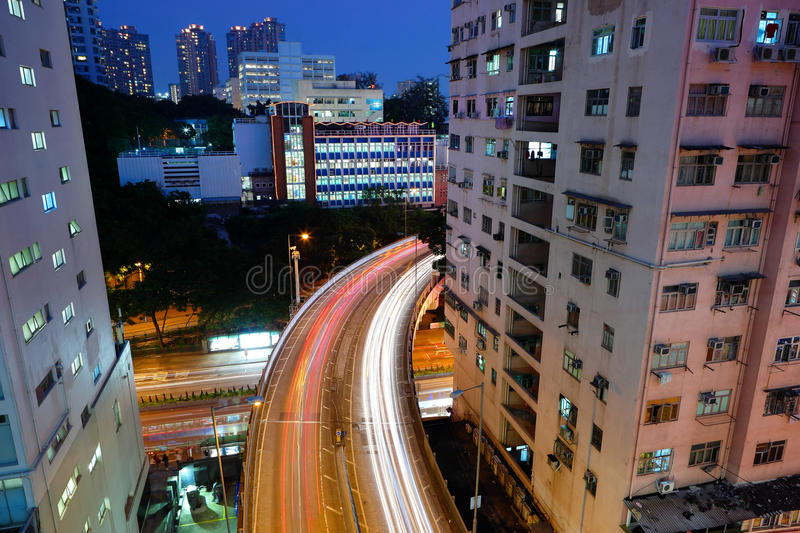 Download Traffic At Night Stock Photography - Image: 17323832