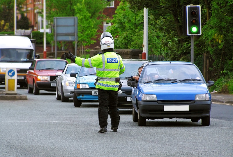 Download Traffic Police stock photo. Image of criminal, traffic - 126864