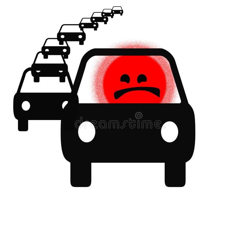Download Traffic rage stock illustration. Illustration of burn - 9766339