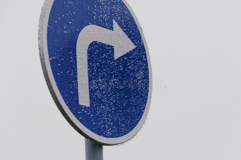 Traffic road sign royalty free stock image
