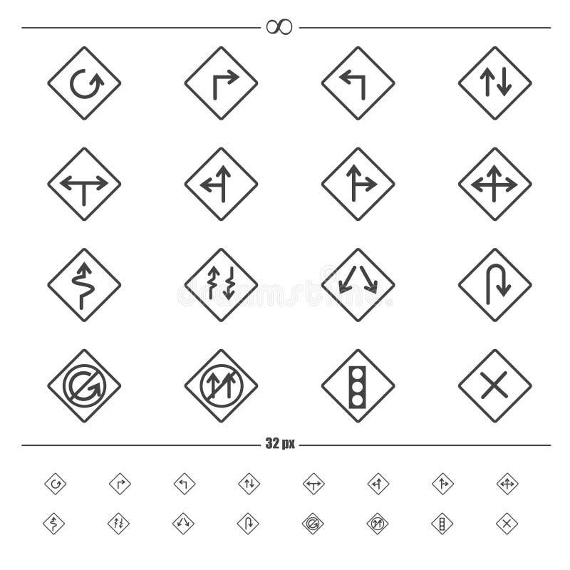 Traffic road sign vector vector illustration